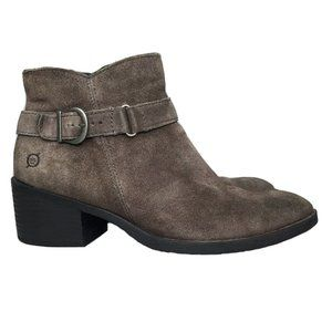 Born Concepts Adia Grey Leather Suede Distressed